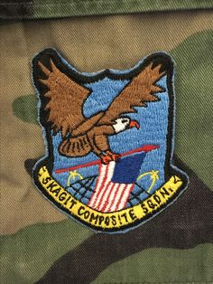 The former patch of Skagit Composite Squadron CAP, Washington Wing.