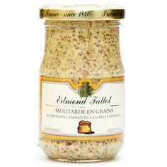 Moutarde en grain Glas  210g