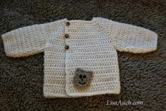 My Favourite FREE Crochet Cardigan Patterns and Crochet Sweater Patterns for Baby