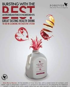 Forever Aloe Berry Nectar - All of the goodness found in our Forever Aloe Vera Gel®, plus the added benefits of cranberry and apple! The delicious flavor is totally natural, prepared from a blend of fresh cranberries and sweet, mellow apples. http://360000339313.fbo.foreverliving.com/page/products/all-products/1-drinks/034/usa/en  Need help? http://istenhozott.flp.com/contact.jsf?language=en Buy it http://istenhozott.flp.com/shop.jsf?language=en