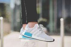 51b99661ea7ba S80207 adidas NMD R1 Bright Cyan On Feet Adidas Nmd Outfit
