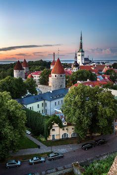 Tallinn, Estonia (by Andrey Omelyanchuk)