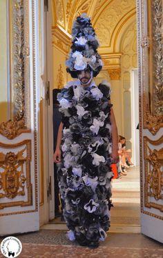 Polimoda Show 2015 !! i Pulcinella floreali di Alessandro Trincone