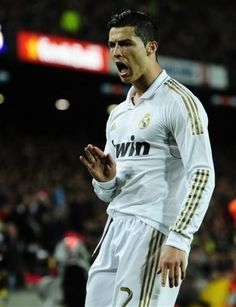 Cristiano Ronaldo scored a winning goal in Real Madrid's 2-1 victory against Barcelona at Camp Nou.