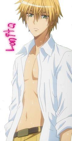 Personnage : Isui Takumi  Animé : Kaichou wa maid - Sama! Format : Render PNG