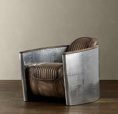 I am dying over the Aviator Collection at Restoration Hardware. If only!