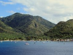 Grande Anse d' Arlet on Martinique, Eastern Caribbean, is popular among yachties. Caribbean, Dolores Park, Popular, Water, Travel, Outdoor, Gripe Water, Outdoors, Viajes