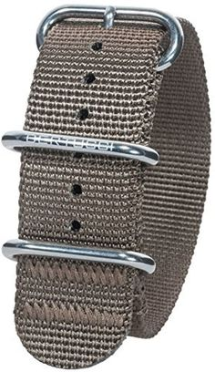 Bertucci DX3 B-140 Dark Khaki HP 22mm Nylon Watch Band by bertucci -- Awesome products selected by Anna Churchill