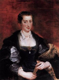 Isabella Brandt, First Wife by Peter Paul Rubens