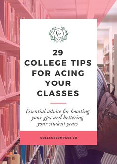 Super helpful tips for being a better student! The ones on finding resources on campus are the best. Click through to read and pin to save for later! via @collegecompassc
