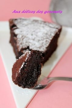 Aux délices des gourmets: MOELLEUX TOUT CHOCOLAT