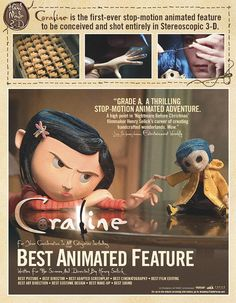 Coraline (2009) Coraline Art, Coraline Jones, Neil Gaiman, Stop Motion, Coraline Aesthetic, Clay Animation, Laika Studios, Tim Burton Characters, Dragons
