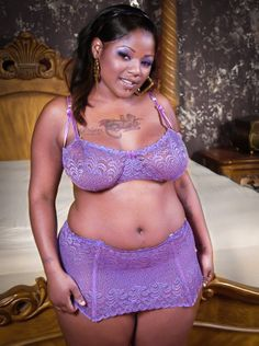 Purple, lavender, lilac, deep purple, royal blue, are all sexy on a curvy woman