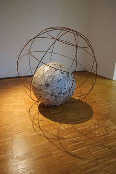 Michelangelo Pistoletto, Mappamondo (Globe), 1966-68