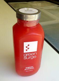 Green Surge in cold-pressed juice San Francisco, CA