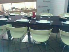 Comedor preparado para comida navideña 2013 #RayaAromasysabores #Badajoz #Bar #Gastrobar #Restaurante #Tapas #ComerBien