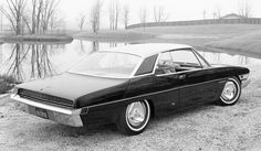 Cool Car Photos 1962 Studebaker Sceptre concept car.  Would've been very modern for the early '60s.