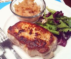 A foolproof recipe for perfectly thick, juicy pork chops every time.