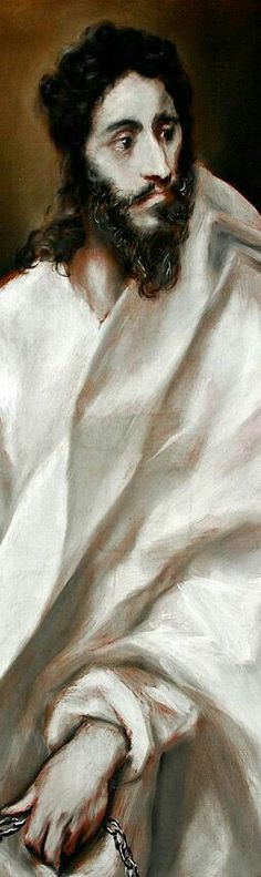 ( not Jesus ) Apostle St Bartholomew 1610-14  El Greco (Domenikos Theotokopoulos)