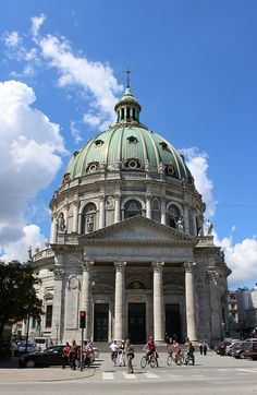 Marmorkirken (Marble Church) - Copenhagen, Denmark,,,beautiful old Church;