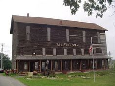 Valentown Museum in Victor, NY built 1879. Was featured on the syfy show fact or fact, the team encountered several unexplained events here (Was also on syfy's Ghost hunters show)