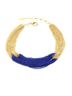 1/3/13 |Gold Sylvana Necklace by Amrita Singh on Gilt.com |pieces are so gorg and colorful, bold. love!