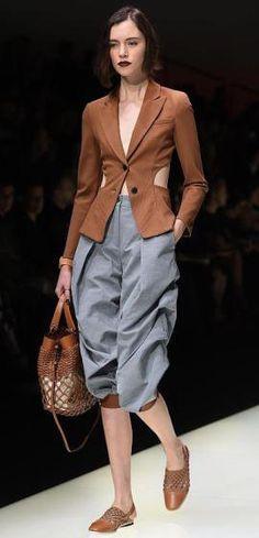 Modewoche Mailand - Emporio Armani (Bild: epa)