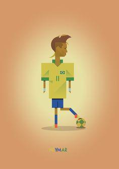 NEYMAR Art Print Soccer Art, Football Art, Sports Graphics, Football Pictures, Neymar Jr, Geek Art, Chicago Bulls, My Hero, Nostalgia