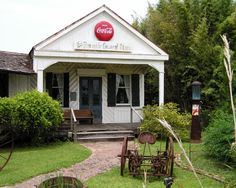 General Store, The Cajun Village, near Sorrento Louisiana - circa 2005.