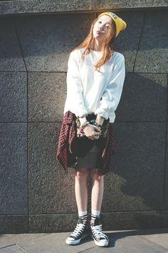 2014 s/s fashion week 스트릿 패션
