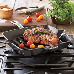 Sur La Table product reviews and customer ratings for Staub® Fumée Enameled Cast Iron Grill Pan. Read and compare experiences customers have had with Staub products.