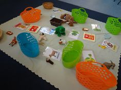 CFS designed for Dear Zoo by Rod Campbell story cafe World Book Day Activities, Dear Zoo Activities, Activities For One Year Olds, Communication Friendly Spaces, Prewriting Skills, Story Sack, Zoo Animals, Wild Animals, Making Space
