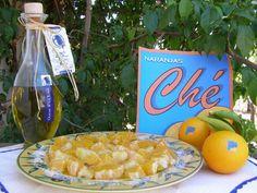 Pan Tostado con Naranja Ecológica y Aceite de Oliva