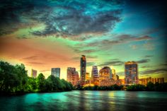 Sunset over Downtown Austin Texas by Bill Blackmon on 500px
