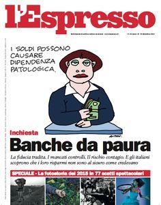 La copertina dell'Espresso in edicola giovedì 24 dicembre 2015