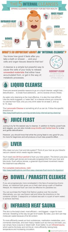 There are several reasons to go on a cleanse such as weight loss, detoxification, or to break food addictions. But the most successful cleanse begins with a deep-seated desire for healing. Here are the five types of cleanses to help heal your body from within.