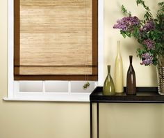 High quality Woven Wood Blinds or Woven Shades are the most elegant of today's window fashions. Free Top-Down / Bottom-Up option.