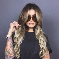 "37.3k Likes, 231 Comments - JAMIE GENEVIEVE (@jamiegenevieve) on Instagram: ""Hair of dreams  . @mesarthair X @jackbaxter on hair @desiperkins X @quayaustralia sahara sunnies"""