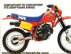 1984 Honda XR250R Brochure » www.DadsCycleMags.com