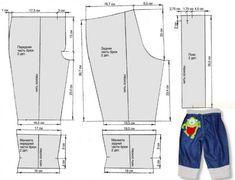 Pattern jeans for boy / Выкройка джинсов для мальчика