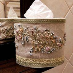 Рукоделие#салфетница #вышивка#хэндмейд #цветы #нежно #готоваяработа #прованс #подарочек #best_handmade_world #bm_embroidery