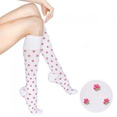 RejuvaHealth Rose Compression Socks - [Mild] 15-20 mmHg - Compression got these! Love them!