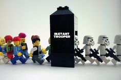 Growing the Empire by Mark -- the creation of Lego stormtroopers, minifigures