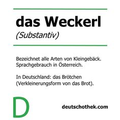 zum #InternationalSandwichDay unser #WortderWoche #Weckerl #Brötchen #Gebäck #Deutschothek #Sprachenlernen #Deutschlernen #LearnGerman Learning German, New Words, Learn Languages, Learn German