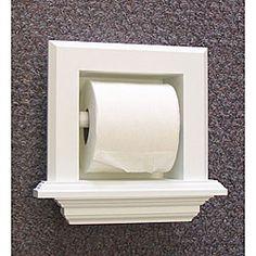 Bevel Frame Recessed Toilet Paper Holder   Overstock.com Shopping - The Best Deals on Bath Fixtures