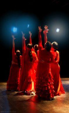 Flamenco dance performance - Prague, 2. 2. 2014