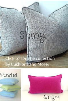 Throw pillows, backrests, tiny and huge cushions in velvet, twill, metallic are some of the options by @CushionsMore. Handmade in Cyprus and delivered worldwide, these carefully crafted designs by Emiliana Patriotou won't disappoint. Click to visit her Etsy shop and read testimonials.