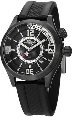 Ball Men's DG1020AP1AJBKSL Engineer Master Analog Display Swiss Automatic Black Watch