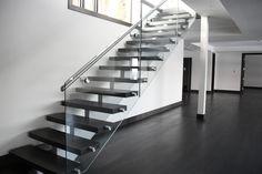 Glass Stairs Design, Home Decor, Decoration Home, Room Decor, Home Interior Design, Home Decoration, Interior Design