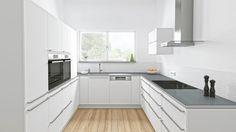 Gulf Beko Service Refrigerator, Washing Machine, Dishwasher, Oven and … - FMkitchen. Ikea Kitchen, Kitchen Interior, Kitchen Cabinets, U Shaped Kitchen Inspiration, Integrated Dishwasher, Dishwasher Tabs, Built In Ovens, Oven Cooking, Kitchen Equipment